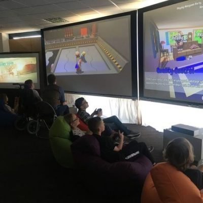 New centre for gaming with Everyone Can charity